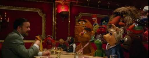 """Muppets Most Wanted"" Posters Satirize ""Skyfall"" and ""Face/Off""; New Adele Dazeem TV Spot"