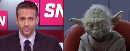 Yoda Interviewed By ESPN Anchor For Star Wars Character Tournament