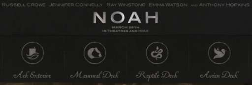 """Noah"" Offers A Look Inside The Ark"