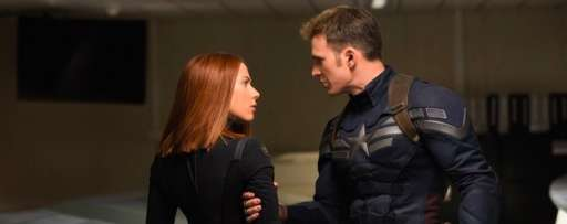 "Chris Evans And Scarlett Johansson Talk ""Captain America: The Winter Soldier"", Getting Back Into The Suit, And More"