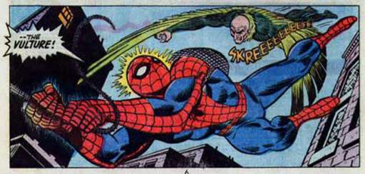 """The Vulture Makes Front Page News On """"The Amazing Spider-Man 2"""" Viral Site"""