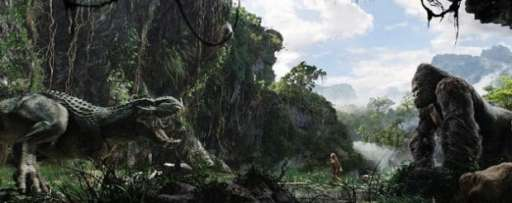 "Legendary Pictures Announces New King Kong Movie ""Skull Island"""