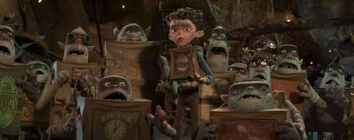 """The Boxtrolls"" Interactive Poster Turns You Into LAIKA's Latest Creatures"