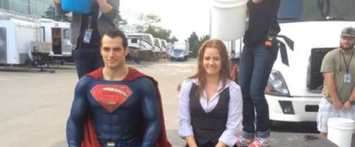 Watch Henry Cavill Take The ALS Ice Bucket Challenge While Wearing The Superman Suit