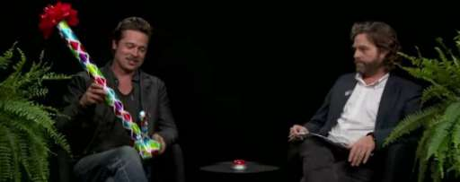 Zach Galifianakis Asks Humiliating Questions To Brad Pitt In Latest Episode Of 'Between Two Ferns'
