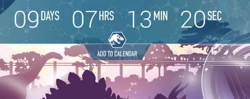 """Jurassic World"" Viral Site Reveals Countdown to Thanksgiving"