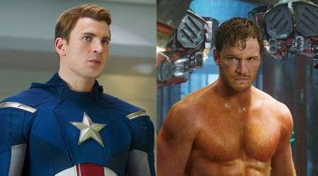 Captain America Vs. Star Lord: Super Bowl Civil War