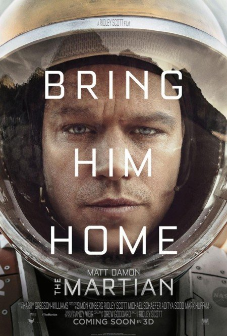 RIDLEY SCOTT AND MATT DAMON MARTIAN MOVIE IS TRULY OUT OF THIS WORLD