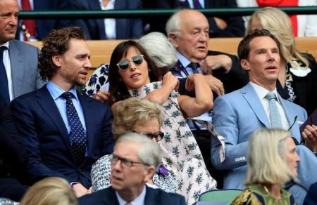Tom Hiddleston inspires a Great Victory for the English Cricket Team at the World Cup and Djokovic in the Wimbledon Tennis Finals