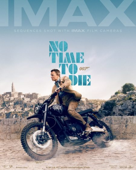 The James Bond Hype Machine is in FULL throttle. Song unveiled. IMAX posters unveiled. NO TIME TO DIE IS ALMOST HERE!