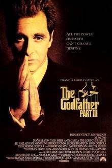 Dear Mr Coppola: Godfather 3 is Perfect as it is. Tinkering is Blasphemous. Even when you are the Movie God..