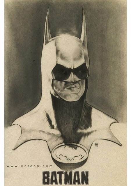 Check out this Awesome Batman Art!