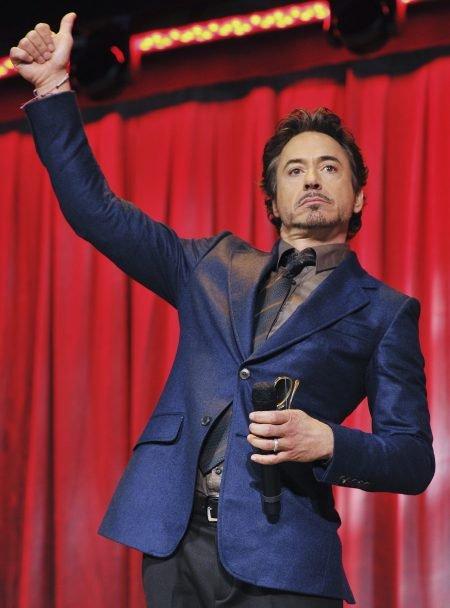 Robert Downey Jr saves the world!