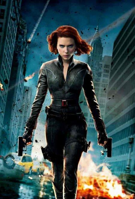 Has Scarlett Johansson even SEEN Iron Man 2 lately?