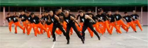 Prison Inmates Dance To MJ's This Is It