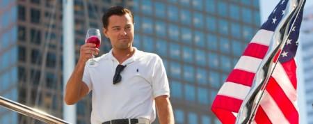 The Wolf Of Wall Street starring Leonardo DiCaprio