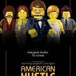American Hustle Lego Poster