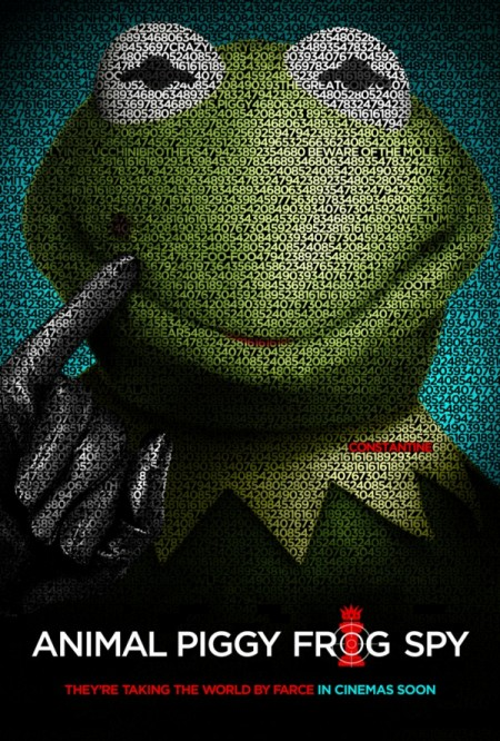 Muppets parody Tinker Tailor Soldier Spy poster