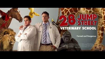 28 jump street veterinary school